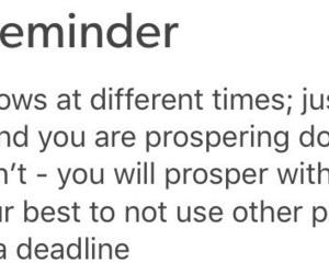deadline, encouragement, and gentle image