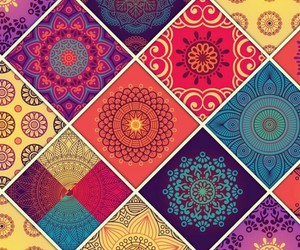 colors, mandala, and wallpaper image