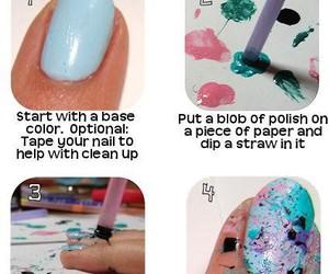 nails, nail art, and diy image
