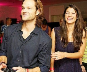 jared padalecki, supernatural, and genevieve cortese image