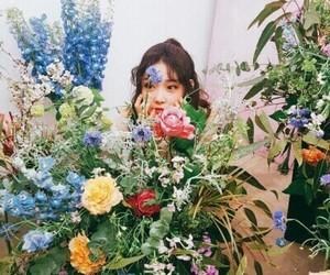 chungha, ioi, and flowers image