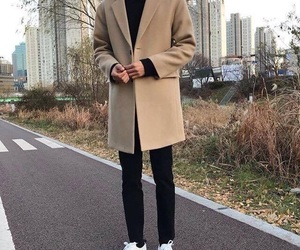 outfit, boy, and korean image