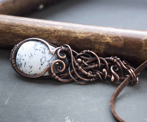 etsy, fantasy, and necklace image
