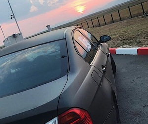 beautiful sky, black, and bmw image