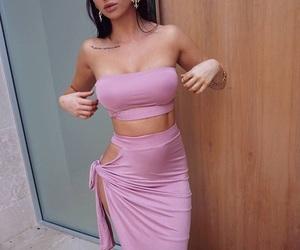 beauty, pink, and baddies image