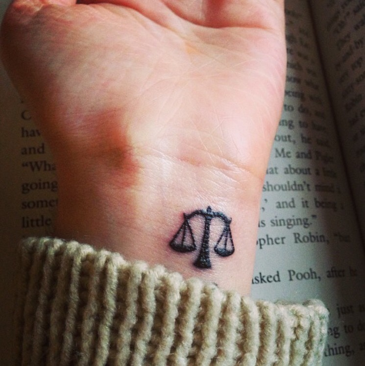 Libra Tattoo Shared By Solcac On We Heart It