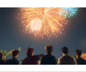 colorful, exo, and firework image