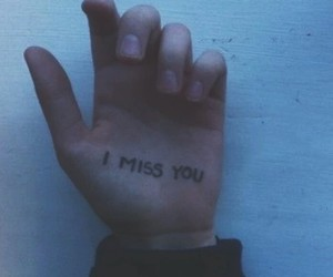 grunge, hand, and miss image