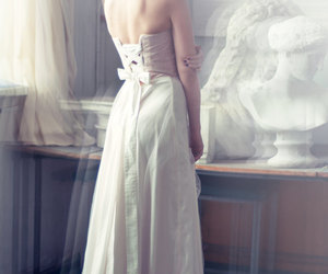 attractive, lovely, and bride image