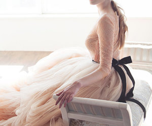attractive, ball gown, and bride image