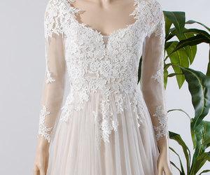 attractive, bohemian, and bride image