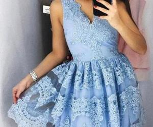cute homecoming dresses and blue homeco.. image