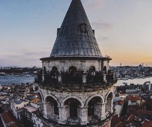 istanbul, turkey, and galata tower image