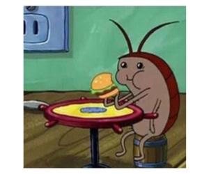 spongebob, food, and funny image