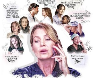 meredith grey and grey's anatomy image