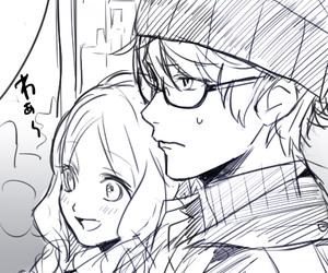 anime, manga, and yui komori image
