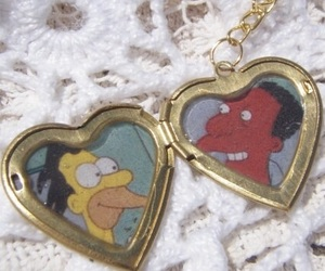 the simpsons, carl, and grunge image