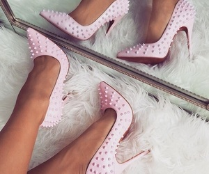 pink, sapatos, and shoes image