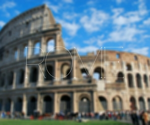 colloseum, italia, and journey image