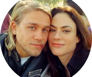 Charlie Hunnam, couple, and sons of anarchy image
