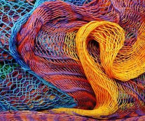 abstract, netting, and textures image