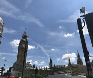 aesthetic, Big Ben, and blue image