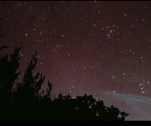 night, stars, and sky image