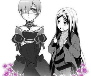 black butler, kuroshitsuji, and sieglinde sullivan image