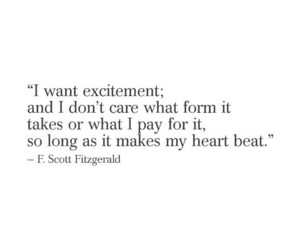 excitement, feelings, and quote image