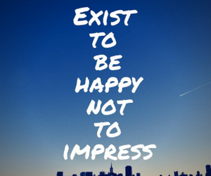 be yourself and be happy image
