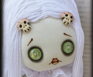 etsy, zombie doll, and goth doll image