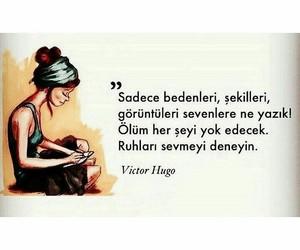 victor hugo and türkçe sözler image
