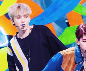 exo, visual, and sbs inkigayo image