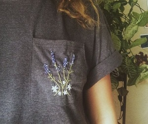 fashion, gray, and lavender image