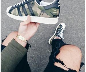 adidas, camo, and aesthetic image