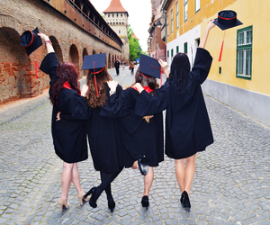 graduation, besties, and university image