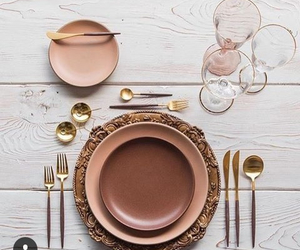 table setting and we heart it image