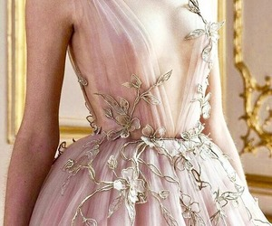 dress, embroidery, and embellishment image