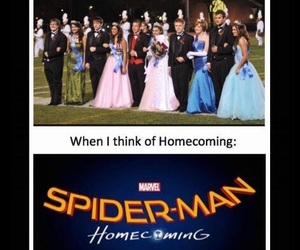 funny, highschool, and homecoming image