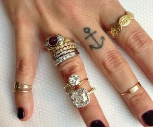 anchor, hand, and inspo image