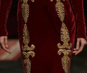 D&G, dress, and gold image