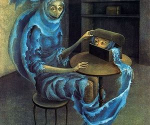 modern art, remedios varo uranga, and surrealism paintings image