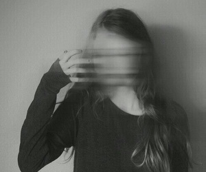 black and white, grunge, and black image