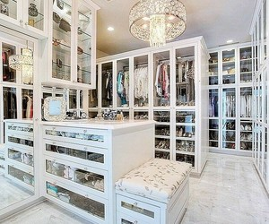 closet, home, and house image