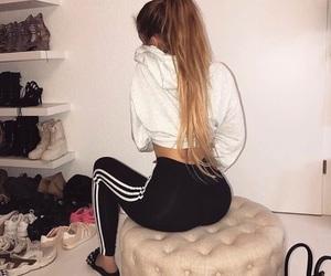 adidas, goals, and long hair image