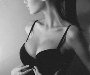 black, body, and thin image