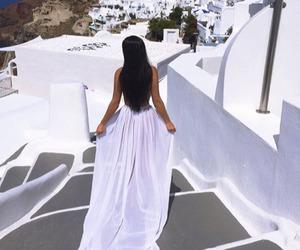 girl, dress, and luxury image