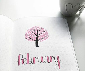 february and love image