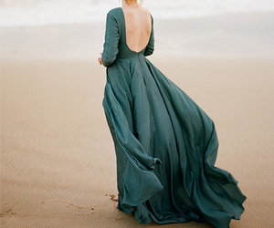 etsy, green evening dress, and long evening gown image