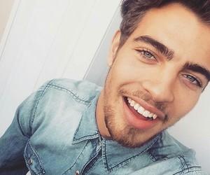 boy, smile, and eyes image